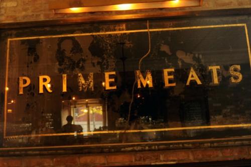 Eblog Prime Meats sign