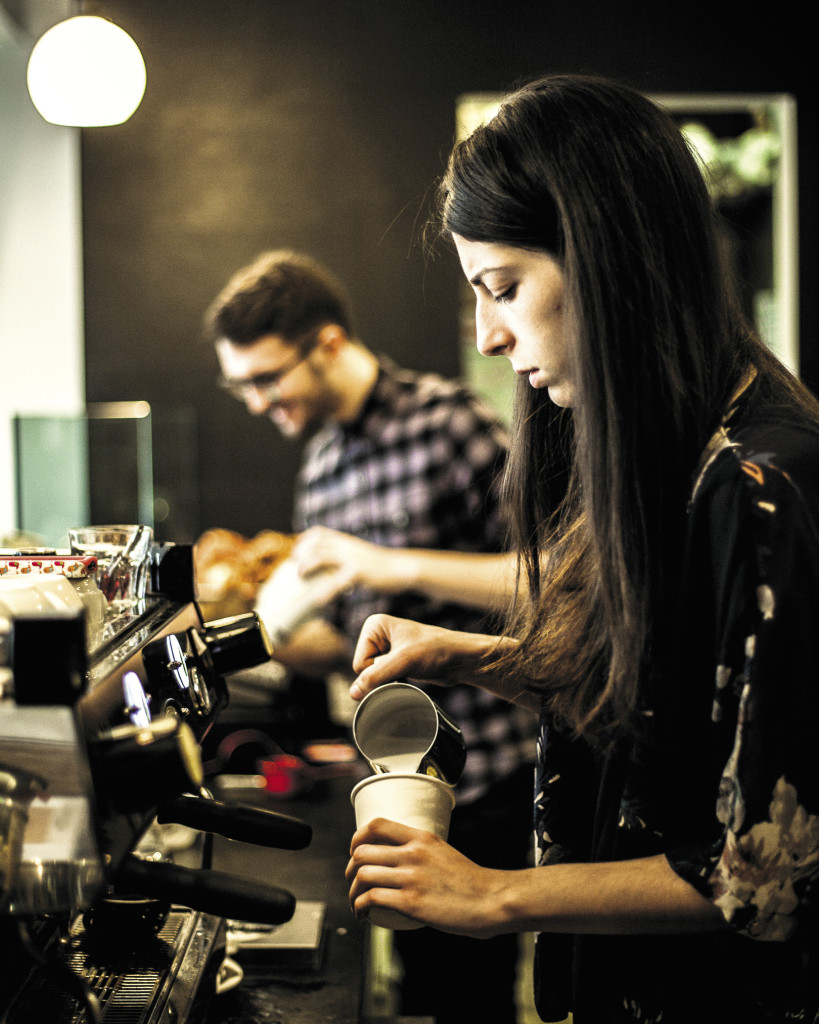 Beyond the bean: At cafés like Third Rail, serious sourcing and hand-built machines have become common.