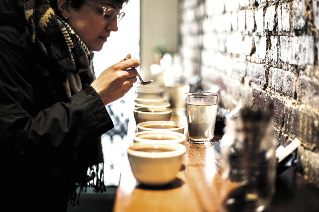 Taster's choice: Stumptown's West Village brew bar offers cuppings of different single-origin or high-end blends in myriad brew methods to better inform the budding coffee connoisseur of what's in the cup.