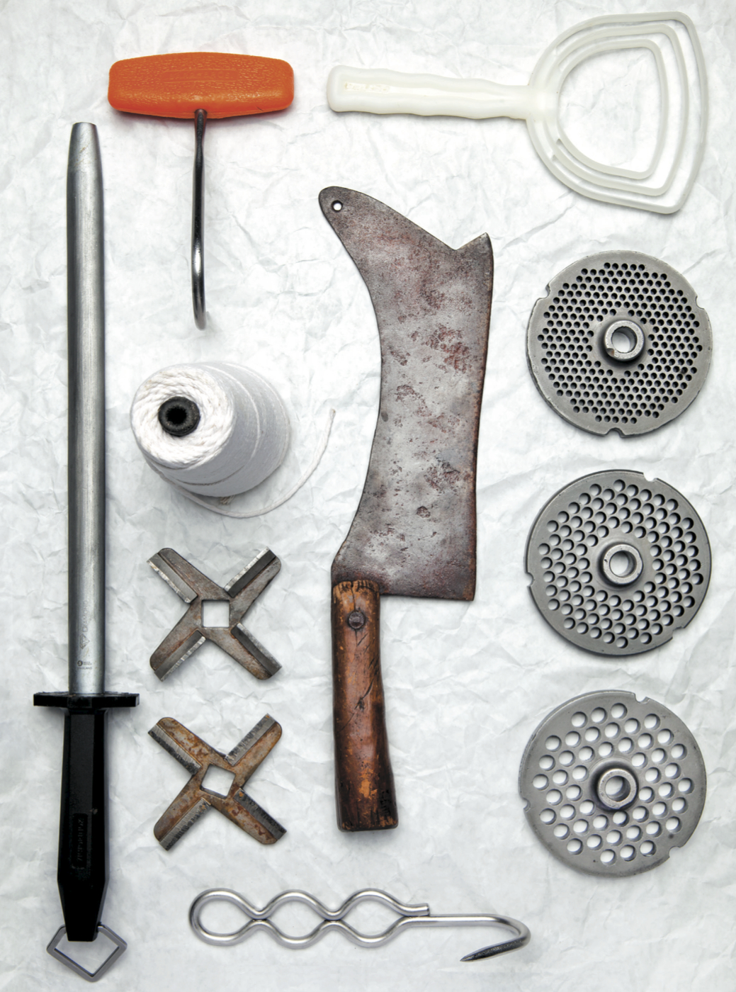 harlem shambles butchering tools