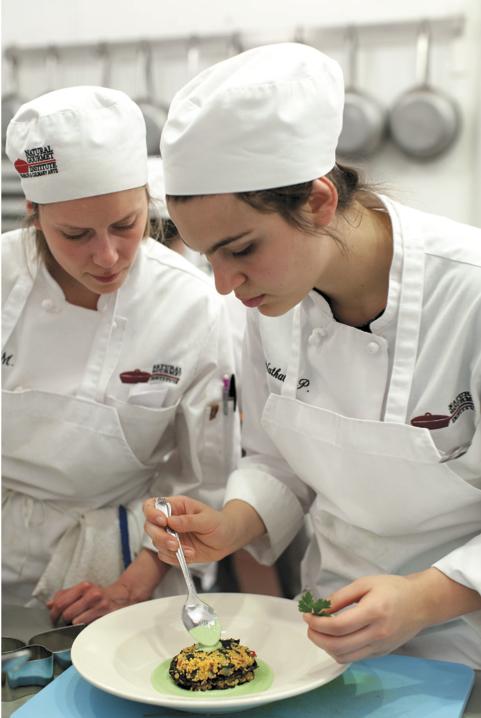 national gourmet institute kitchen