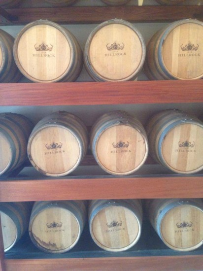 Message in a barrel: adding age at Hillrock Distillery.