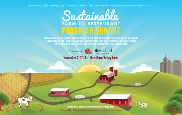 NYC Sustainable Farm to Restaurant Producer Summit | Edible