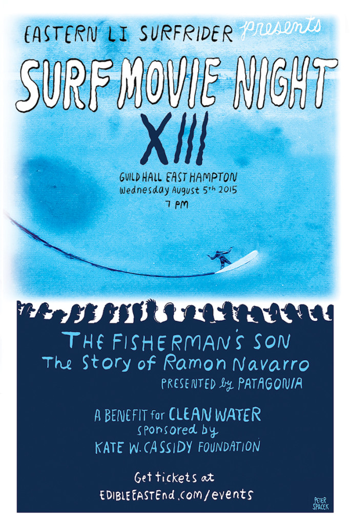 surf movie night poster