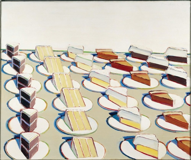 Wayne Thiebaud Pie Counter