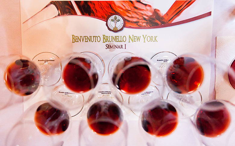 brunello tasting 01 Vincent Roazzi Jr