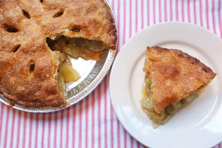 bubby's green tomato pie