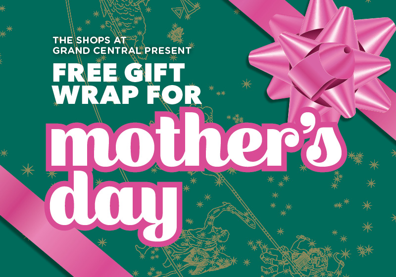Mother's Day Gift Wrap at Grand Central | Edible Manhattan