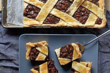 Chocolate Pecan Slab Pie_credit to Deb PerelmanSmitten Kitchen