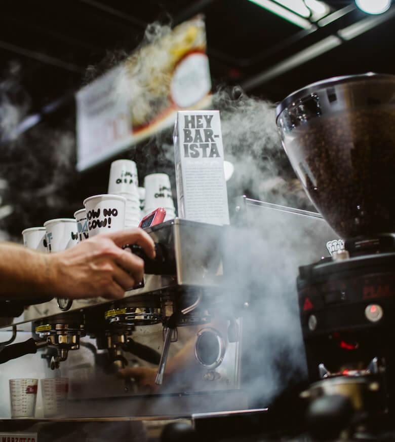 oatly new york city, coffee shops, dairy alternatives, plant-based milk, vegan milk