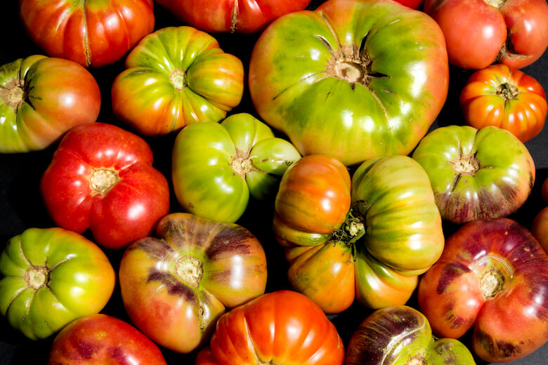 Heirloom tomatoes, baldor foods, imperfect produc
