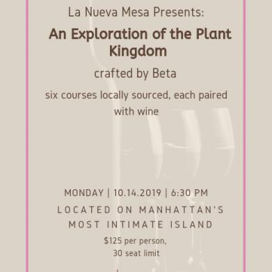La Nueva Mesa Presents: An Exploration of the Plant Kingdom