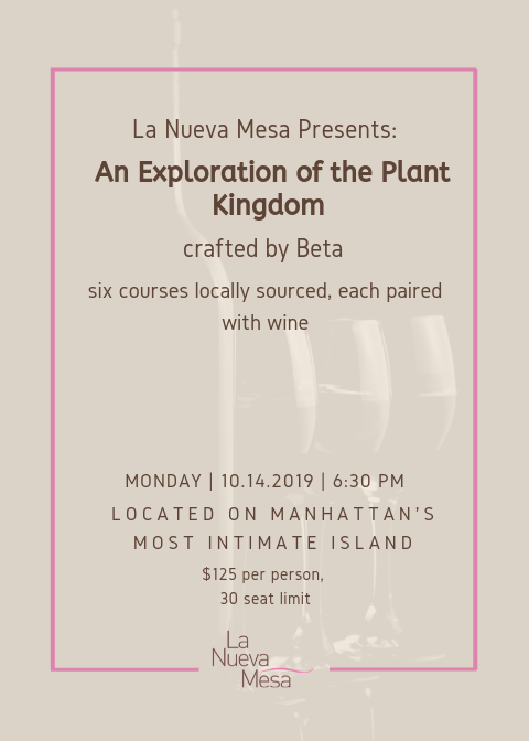 La Nueva Mesa Presents: An Exploration of the Plant Kingdom