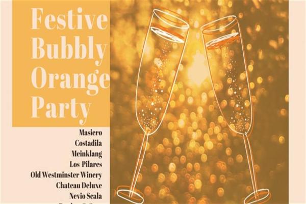 Bubbly Orange Wine Festivities